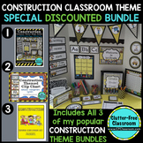 Construction Classroom Theme Packet ~ Printables Decor and More