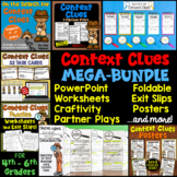 Context Clues MEGA-BUNDLE (Craftivity, PowerPoint, Task Ca