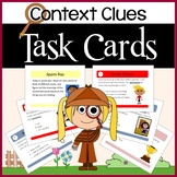 Context Clues Common Core Task Cards