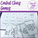 Context Clues Games!