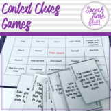 Context Clues Games!