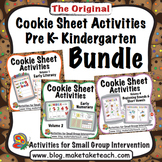 Cookie Sheet Activities Pre K- Kindergarten Bundle