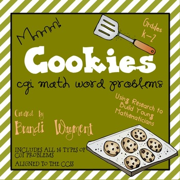 Cookies - CGI Math Word Problems