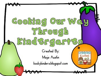 Cooking Our Way Through Kindergarten