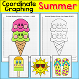 End of the Year Activities: Coordinate Graphing Summer Activities