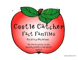 Cootie Catcher - Fact Families