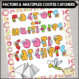 Factors and Multiples Cootie Catchers