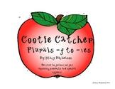 Cootie Catcher - Plurals -f to -ves