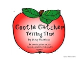 Cootie Catcher - Telling Time