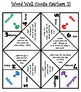 Word Wall Cootie Catchers