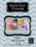 Cootie Catchers Math Fact Fluency Addition 1-9