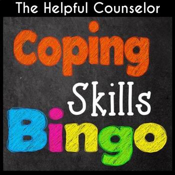 Coping Skills Bingo Game for Kids and Teens ~ Helpful School Counselor