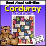 Corduroy ~ Reading Response Activities