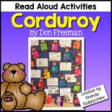 Corduroy ~ Reading Response Activities