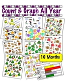 Count & Graph ALL YEAR  - Common Core Measurement & Data