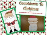 Countdown to Christmas {A Santa Craftivity}
