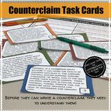 Counterclaim Task Cards