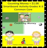 Counting Money < $1.00 Smartboard Activity Grades K-3 Common Core