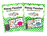 Counting Money Puzzles Bundle (Set 1 & 2) change to $1.00