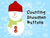 Interactive Counting Snowman Buttons Notebook