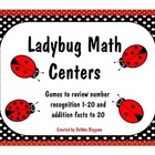 Counting and Addtion Math Center: Ladybug Math