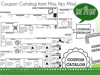 Miss, Hey Miss Coupon Catalog