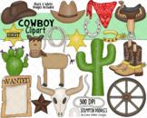 Cowboy Way Clip Art