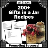 Gifts in a Jar Recipes Mason Jar Crafts Fundraiser Ideas