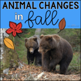 Animal Changes in Fall- The Write Stuff