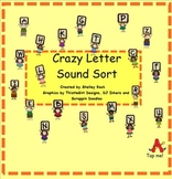 Crazy Letter Sound Sort