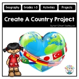 Create Your Own Country Project Elementary Edition for Grades 2-3