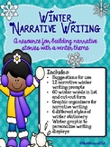 Create Your Own Winter Paragraph or Essay Creative Writing