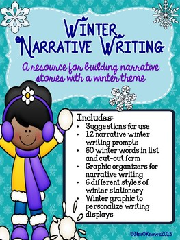 Winter Narrative Writing