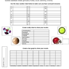 Create a Bar and Pictograph From a Sports Survey