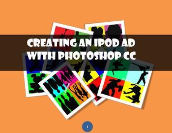 iPod ad with Adobe Photoshop CS3, CS4
