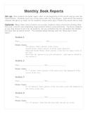 Creative Book Report Ideas