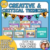 Creative and Critical Thinking Task Cards : 6 Set Bundle (
