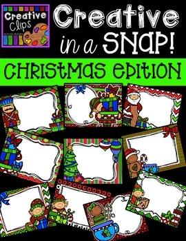 Creative in a SNAP: Christmas Edition {Creative Clips Digital Clipart}