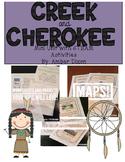 Creek and Cherokee Social Studies Unit
