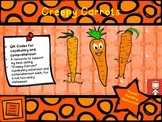 Creepy Carrots QR codes for vocabulary extension and readi