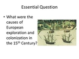 Cribbs - Age of European Exploration: Powerpoint, Graphic