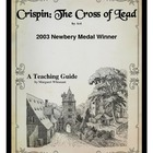Crispin:  The Cross of Lead  Teaching Guide Novel Study