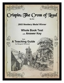 Crispin The Cross of Lead        Whole Book Test