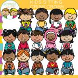 Criss Cross Kids Clip Art