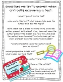 ~~Critical Literacy/Reading with a Critical Lens: Reading