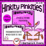 Critical Thinking Kids Love -- Hinkity Pinkities I