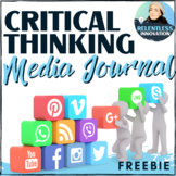 Critical Thinking and Viewing Journal - Media Literacy