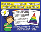 Critical Thinking Question Cards for Young Children