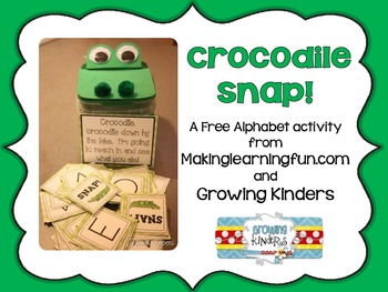 Crocodile Snap! {An ABC Game}