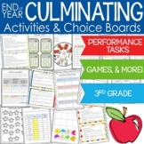 Culminating Activities for the Third Grade Common Core Standards